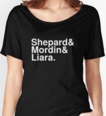 Mass Effect Names - 7 Women's Relaxed Fit T-Shirt
