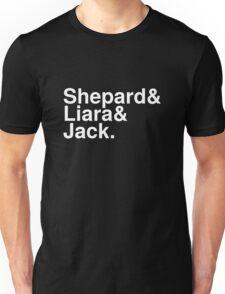 Mass Effect Names - 8 Unisex T-Shirt