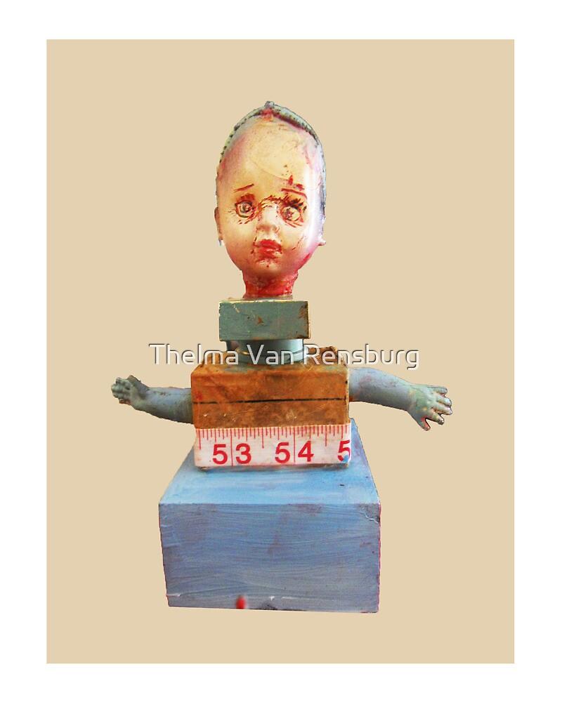 deviant doll, 2010 by Thelma Van Rensburg