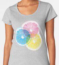 Full Color Orange Premium Scoop T-Shirt