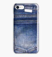 I love jeans iPhone Case/Skin