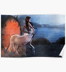 Centaur Archer Poster