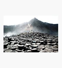 Giants Causeway Rocks Photographic Print