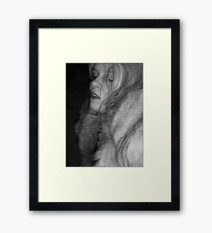 Soft, Warm Glam Framed Print