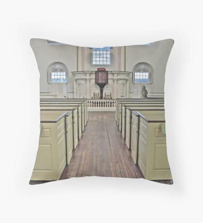 Old South Meeting House I Throw Pillow