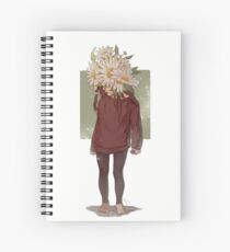 care and the daisies Spiral Notebook
