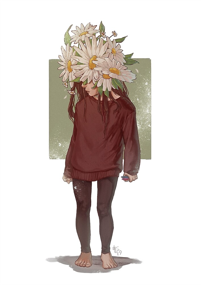 care and the daisies by Elisa Serio