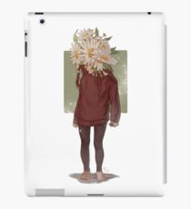 care and the daisies iPad Case/Skin