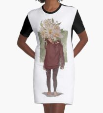 care and the daisies Graphic T-Shirt Dress
