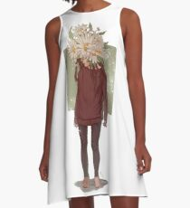 care and the daisies A-Line Dress