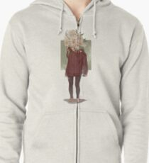 care and the daisies Zipped Hoodie