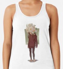 care and the daisies Racerback Tank Top