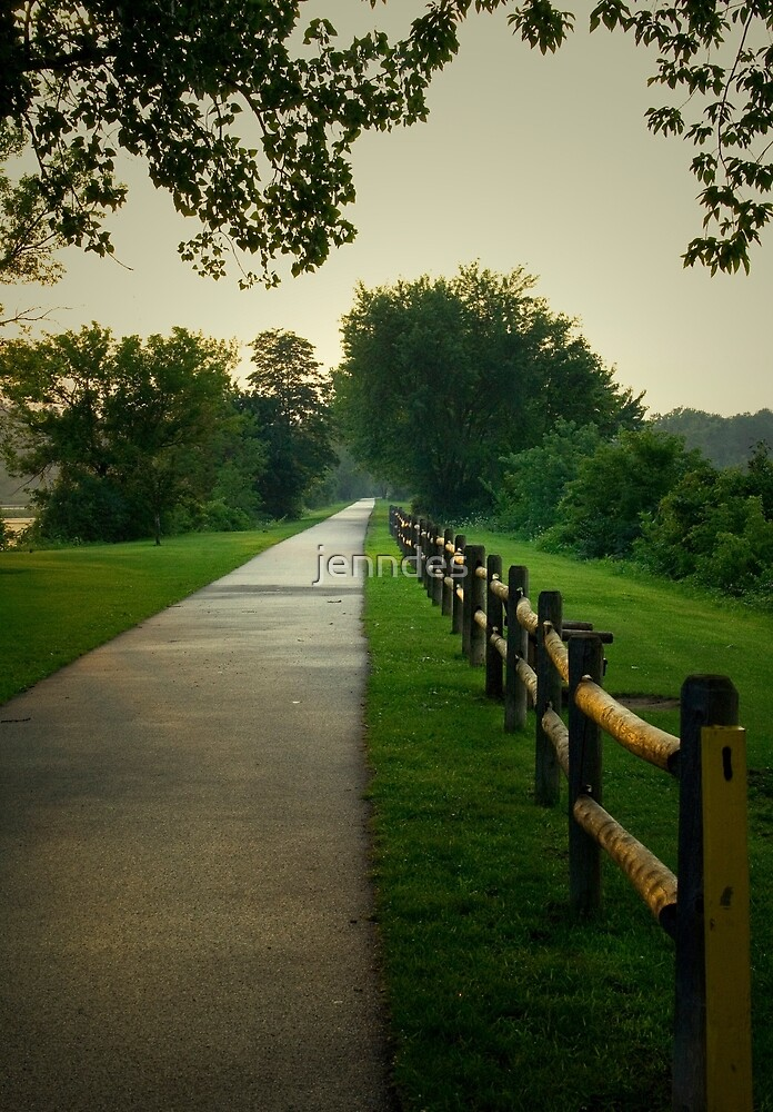 Mohawk Path At Dusk by jenndes