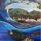 Lahaina Harbour Honu by DakineFineart