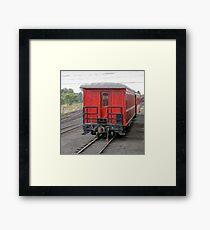 Cumbres & Toltec Passenger Car Framed Print