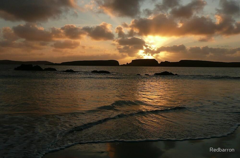St Ninian's Isle Sunset by Redbarron