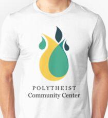 Polytheist Community Center Title & Logo Unisex T-Shirt