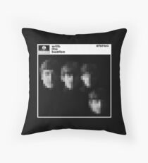 With The... You Know Who Throw Pillow