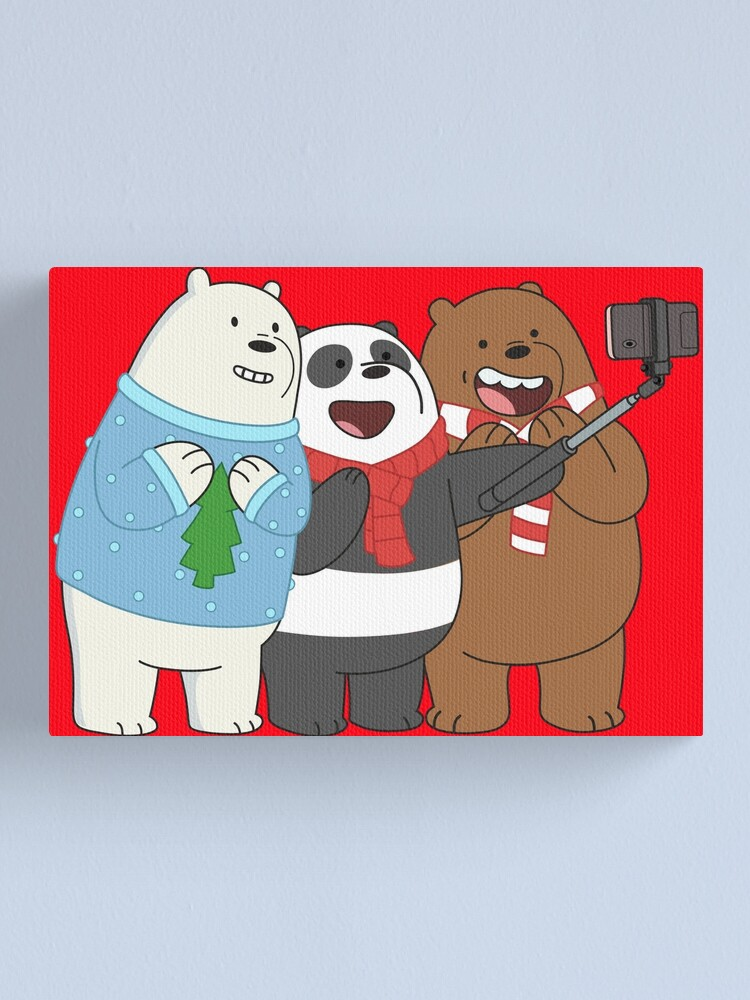Alternate view of We Bare Bears Canvas Print