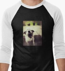Angry Jack Russell Baseball ¾ Sleeve T-Shirt