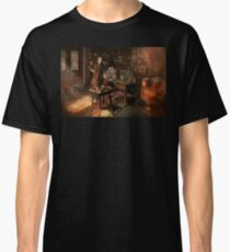 Steampunk - The time traveler 1920 Classic T-Shirt