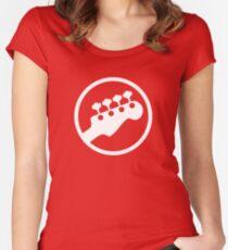 Bass Headstock T-shirt (Scott Pilgrim) Women's Fitted Scoop T-Shirt