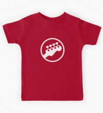 Bass Headstock T-shirt (Scott Pilgrim) Kids Tee