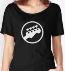 Bass Headstock T-shirt (Scott Pilgrim) Women's Relaxed Fit T-Shirt