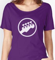 Bass Headstock T-shirt (Scott Pilgrim) Women's Relaxed Fit T-Shirt