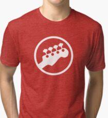 Bass Headstock T-shirt (Scott Pilgrim) Tri-blend T-Shirt