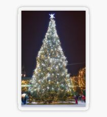 Christmas tree Transparent Sticker