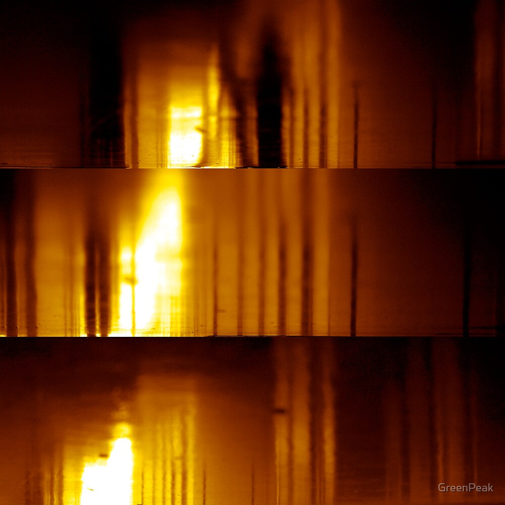 Inferno Triptych by Paul  Green