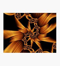 Trap the Light in Metal Photographic Print