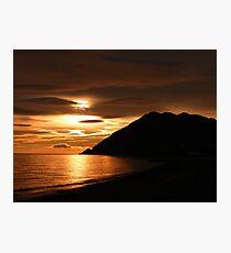 Partial Eclipse  Photographic Print
