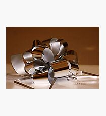 Holiday Ribbon Photographic Print