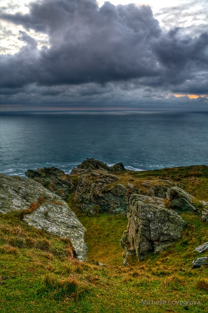 Prawle Point HDR by Michelle Lovegrove