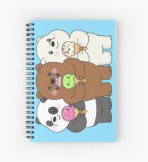 We Bare Bears Spiral Notebook