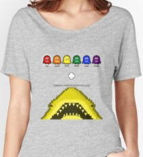 Super Shark + Ghosts Arcade Relaxed Fit T-Shirt