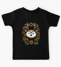 Floral Stag Kids Clothes