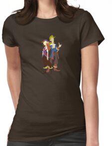 Elaine & Guybrush Womens Fitted T-Shirt