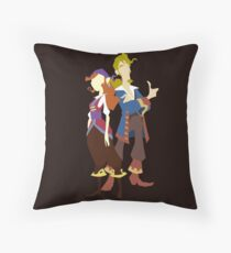 Elaine & Guybrush Throw Pillow