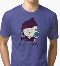 plugs and drugs Tri-blend T-Shirt