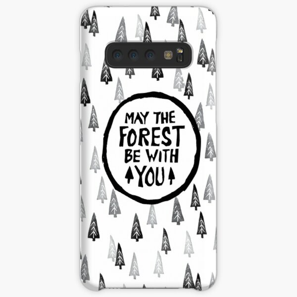 May the forest be with you in the woods Samsung Galaxy Snap Case