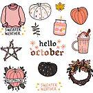 Hello October by nevhada