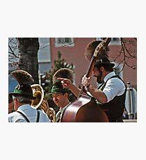 Music Man - Berchtesgaden Germany  -1985 Photographic Print