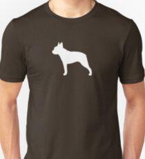 Boston Terrier Silhouette (n) Unisex T-Shirt