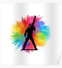 Freddie Mercury pride Poster
