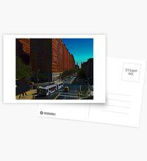 New York Street Scene Postcards