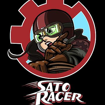 Sato Racer by sarahcave