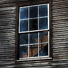 If these old window panes could talk... by Terri~Lynn Bealle